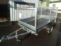 Släp Brenderup FS 750kg m.80cm grind 2020