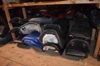 Sadlar till motorcyklar säljes