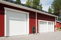Garageportar tillverkade i Jämtland