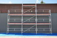 Byggställning Assco ram 9x6m i Alu el Stål