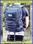 Sweden - 50 liter taktisk ryggsäck - Marinblå