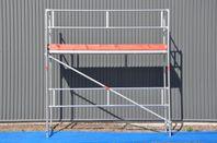 Byggställningspaket i alu eller stål 3x4 m