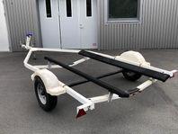 Båtvagn för flatbottnad båt eller vattenskoter 30/km