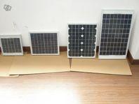 Solceller, solcellspaneler, marina solceller