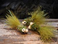 Booby flugor för flugfiske och haspelfiske