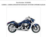 "Avgassystem ""COBRA"" Suzuki M1800R"