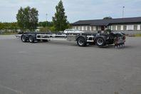 ROADEX 4-axlig lastväxlarvagn 38 ton med glider