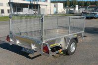 3s Alutrailers A255 bromsad aluminiumsläpvagn