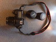 UTHYRES - Canon eos 5D mark 2 med 3 objektiv
