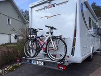 Dragkrok, Cykelhållare och stödben Husbil