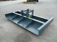 Avjämning,Planeringsbalk 2,5m Grävfäste S60