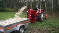 Flishugg för traktor Remet RT-630