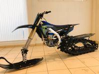 Yamaha YZ450F Monster Edition Snowbike