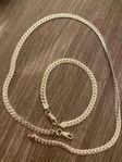 925 Halsband och armband