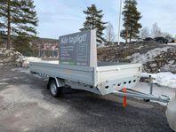 """Rydwan """"NYHET"""" Släpvagn 300 x 150 CM 750KG A750"""