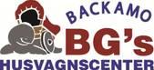 Backamo BGs Husvagnscenter AB logotyp
