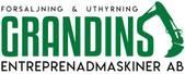 Grandins Entreprenadmaskiner AB logotyp