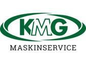 KMG Maskinservice logotyp