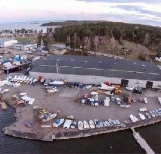 Marin & Fritid Åmål - Hamnterminalen